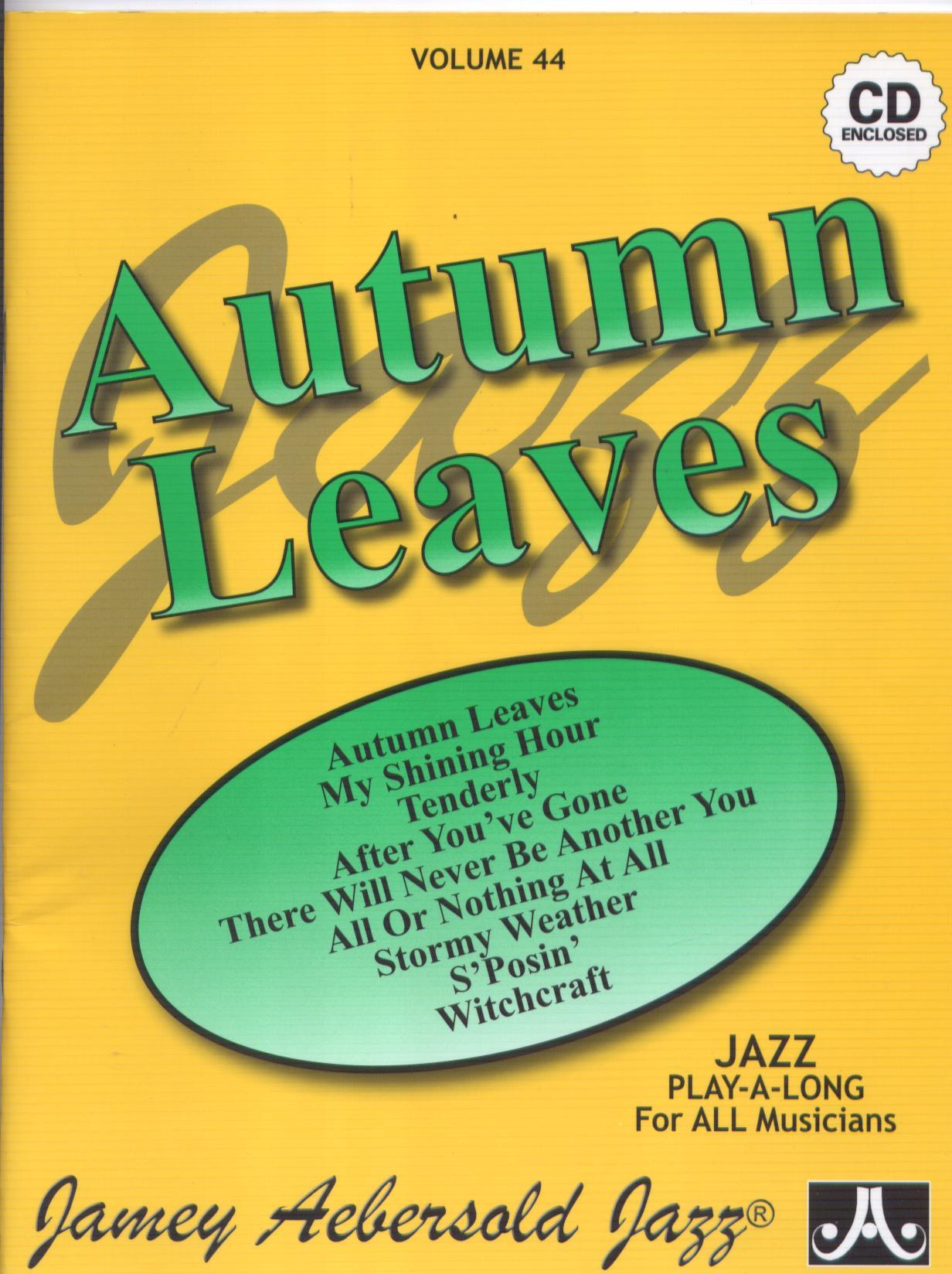 Aebersold 44 Autumn Leaves