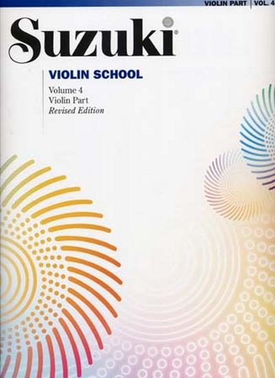 Violin School Violin Part Vol.4 Rev. Edition