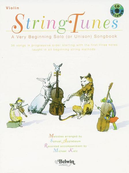 String Tunes Violin Applebaum Cd