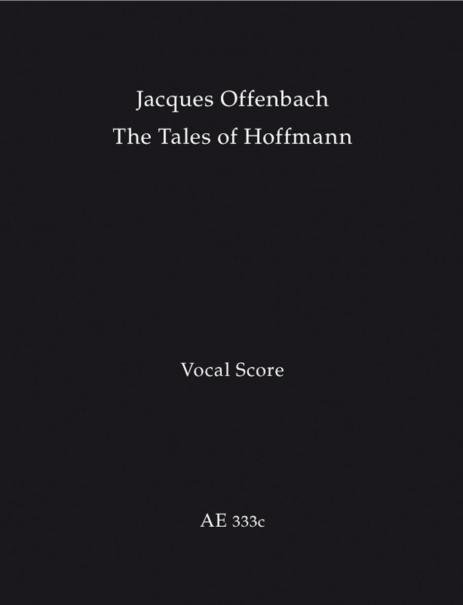 Hoffmanns Erzählungen - Les Contes D'Hoffmann - The Tales Of Hoffmann