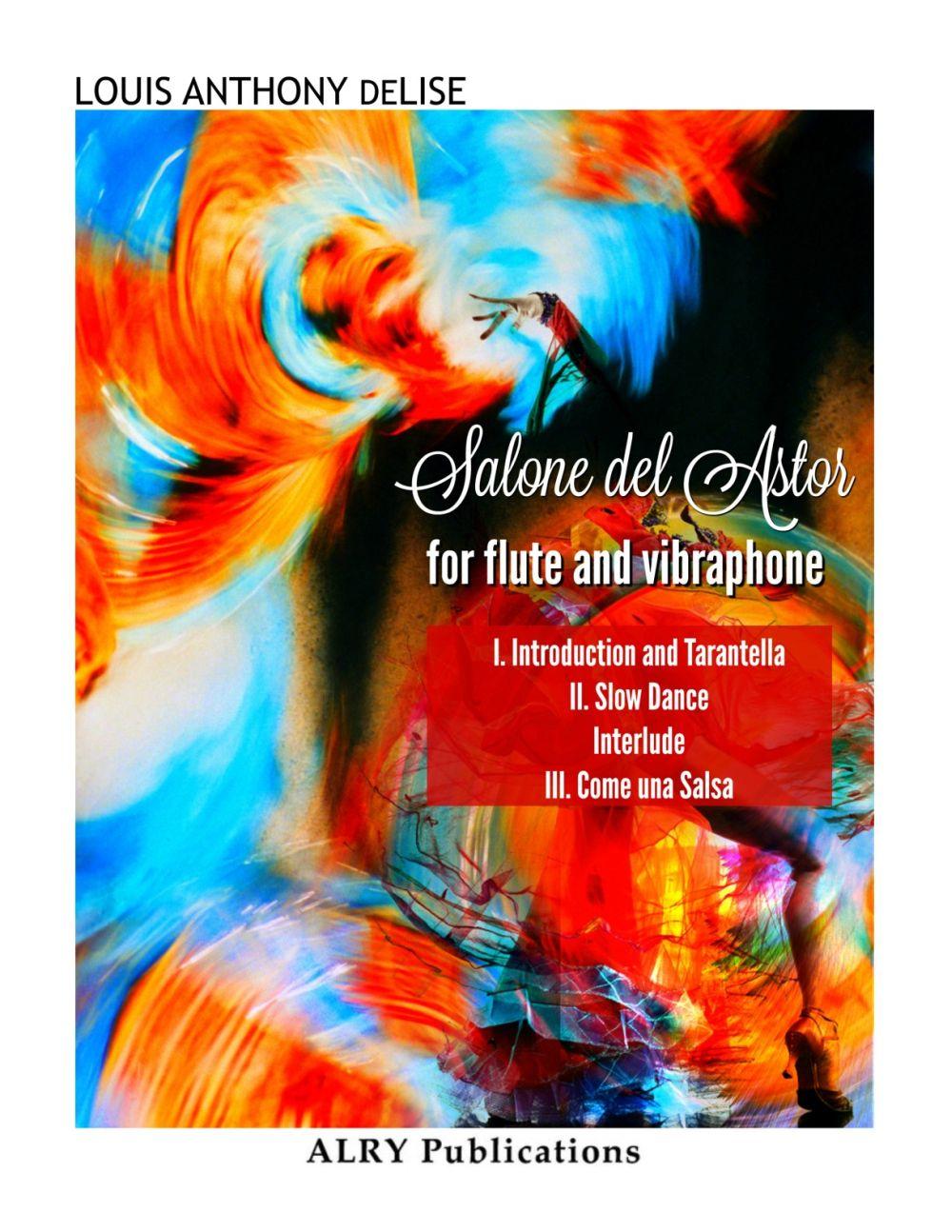 Salone Del Astor For Flute And Vibraphone