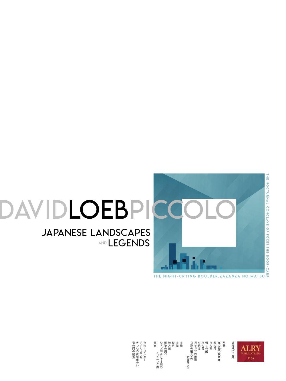 Japanese Landscapes And Legends