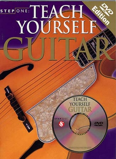 Step One Teach Yourself Guitar Dvd Edition Guitar Book - Dvd