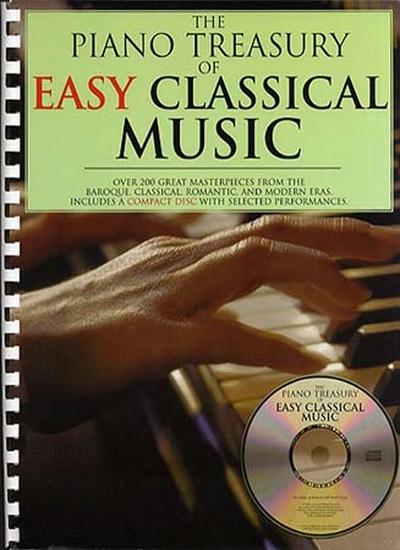 Piano Treasury Of Easy Classical Music Cd