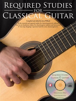Required Studies For Classical Guitar Cd