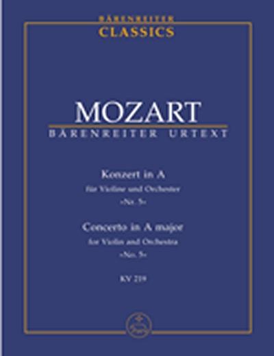Konzert In A Für Voline Und Orchester 'Nr. 5'