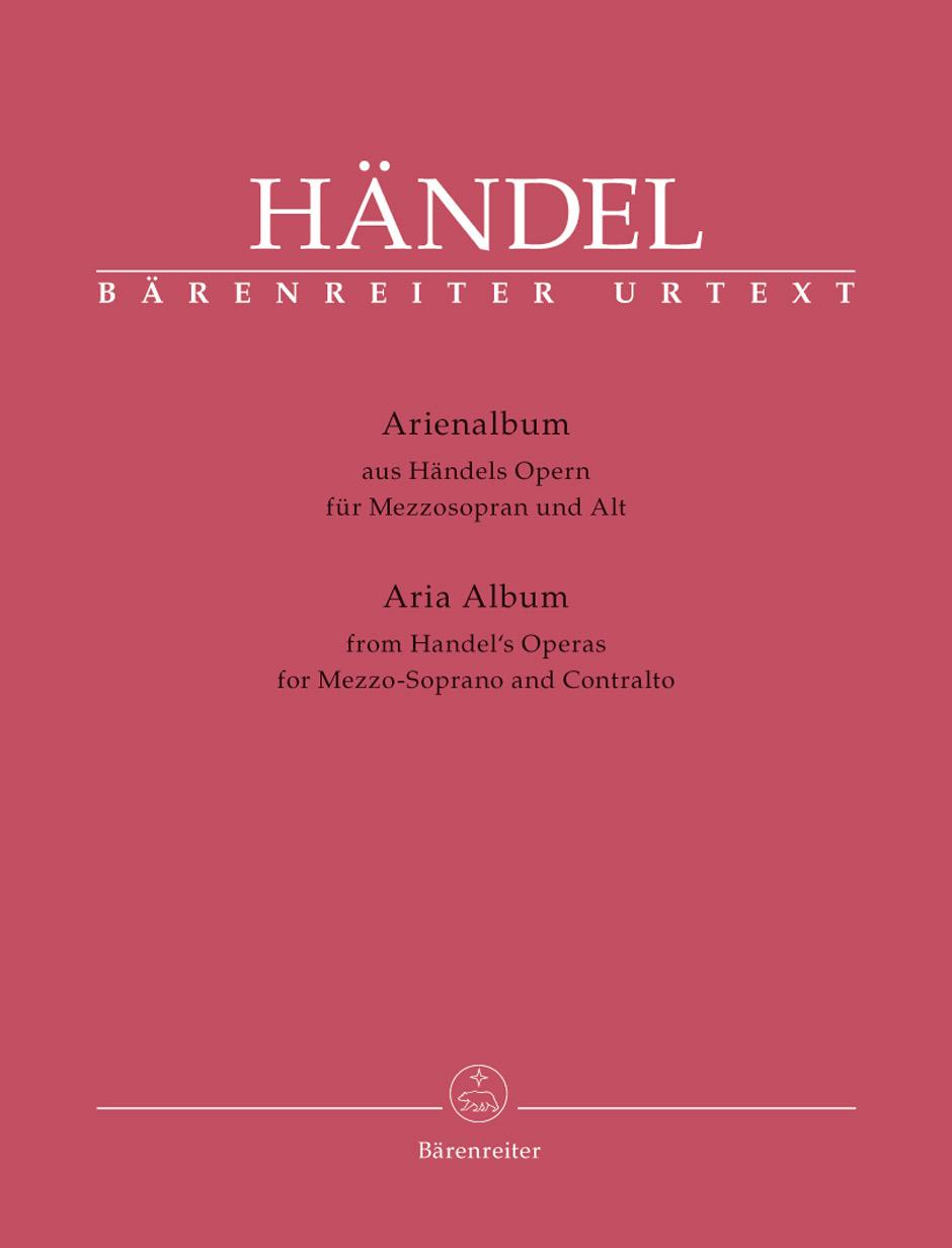 Aria Albums From Handel's Operas. Mezzo-Soprano And Contralto