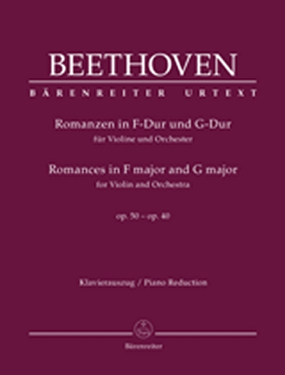 Romances In F Major And G Major For Violin And Orchestra Op. 50, 40