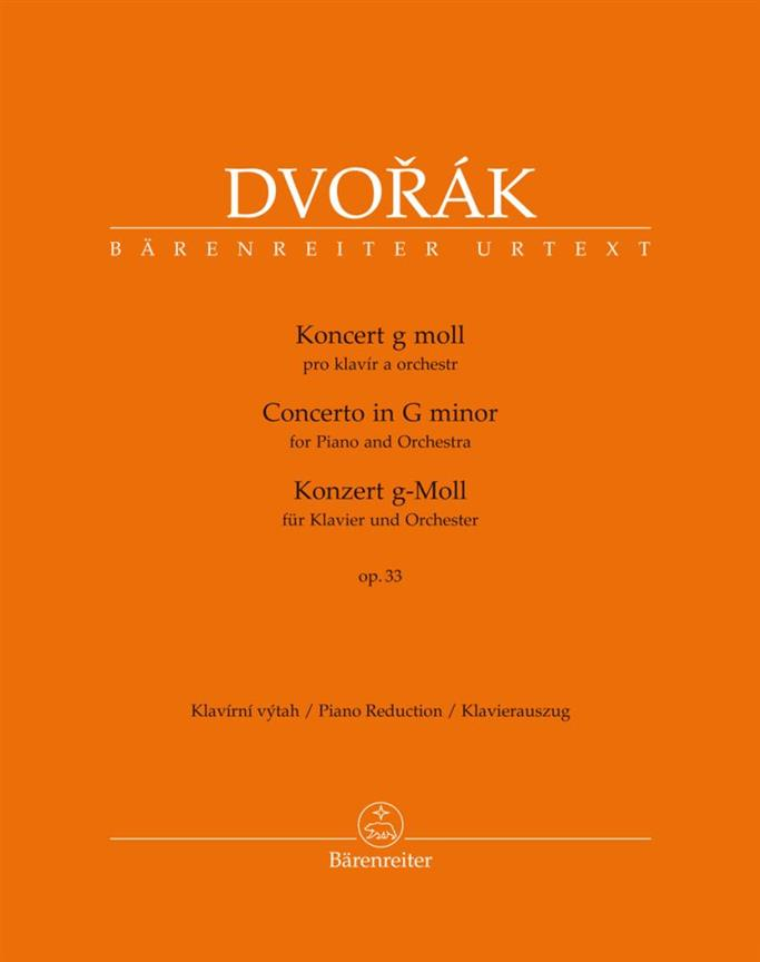 Concerto For Piano And Orchestra G Minor Op. 33 B 63