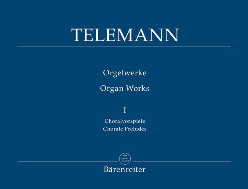 Orgelwerke 1 Choralvorspiele