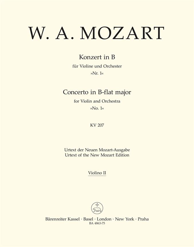 Violinkonzert B-Dur