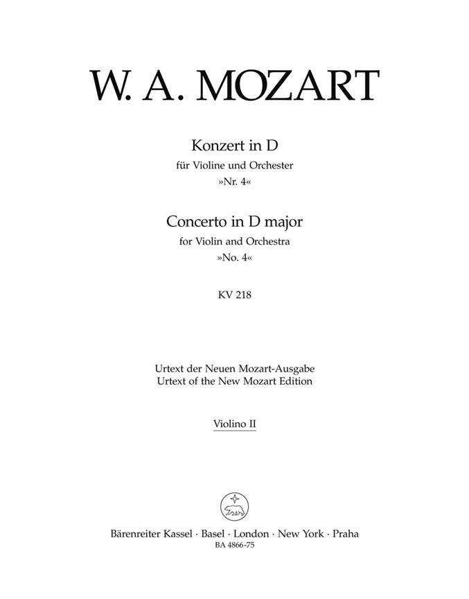Violinkonzert D-Dur