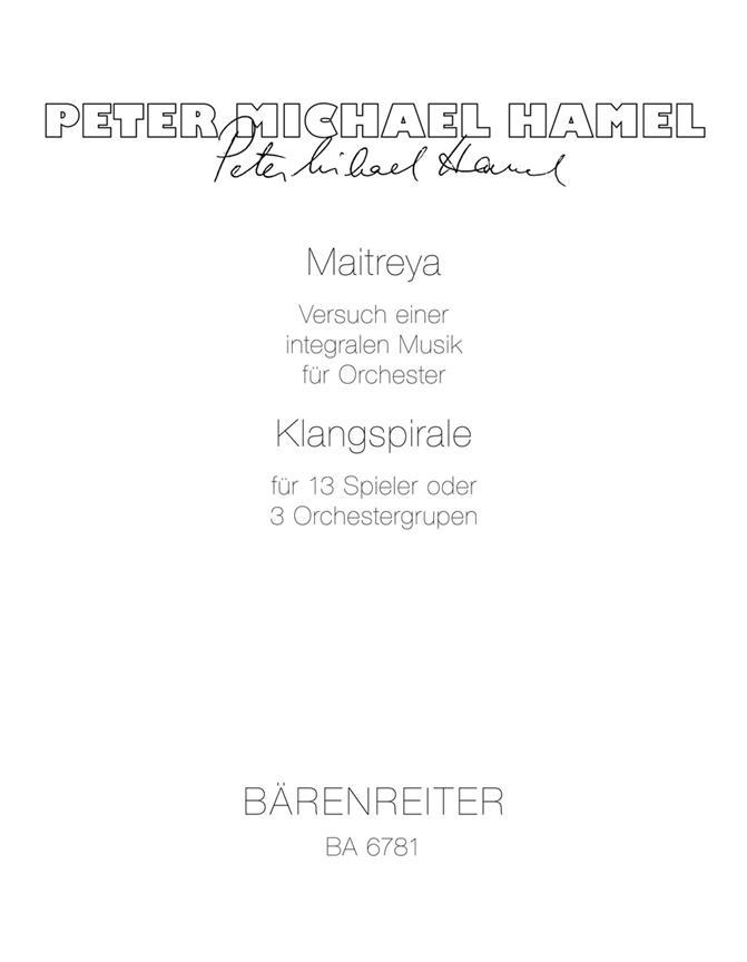 Maitreya - Versuch Einer Integralen Musik / Klangspirale - Spiral Of Sounds