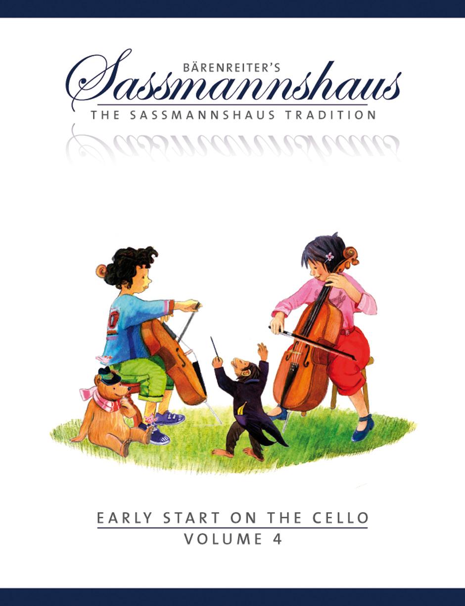 Bärenreiter's Sassmannshaus - The Sassmannshaus Tradition. Early Starton The Cello, Vol.4