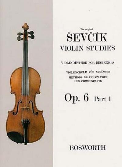 Violin Studies Op. 6 Part.1 Pour Les Commencants