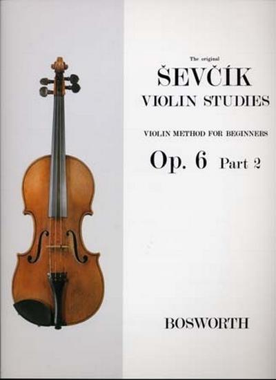 Violin Studies Op. 6 Part.2 For Beginners