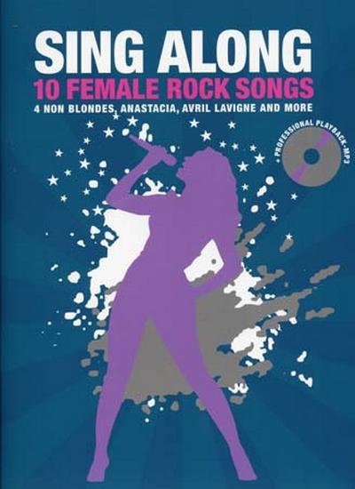 Sing Along - 10 Female Rock Songs