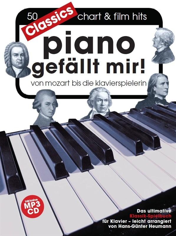 Hans-Günter Heumann: Piano Gefällt Mir! Classics (Book/Mp3 Cd)