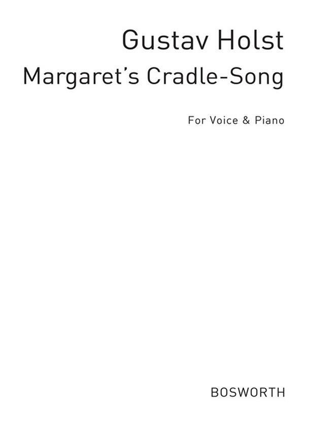 Margrete's Cradle Song Op. 4/1 F Vce/Pf