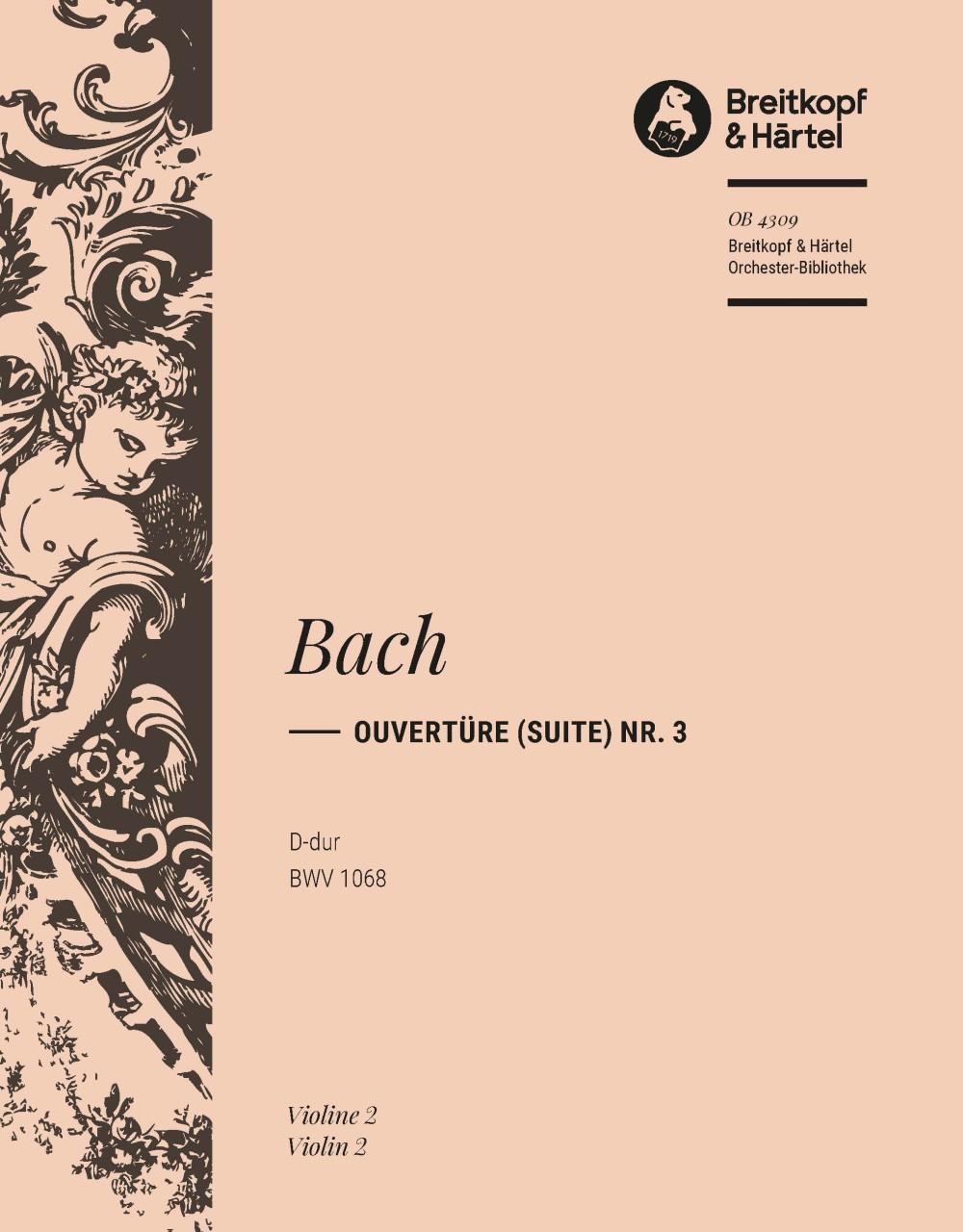 Ouvertüre (Suite) 3 D Bwv 1068