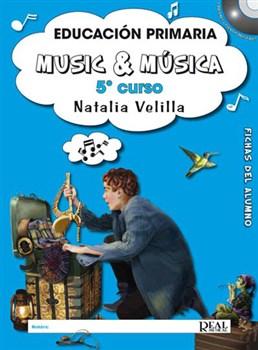 Music And Música, Volumen 5 - Fichas Del Alumno