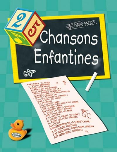 25 Chansons Enfantines