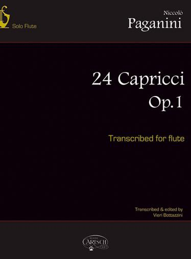 24 Capricci For Flûte