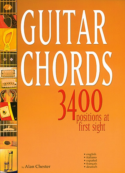 Guitar Chords 3400 Positions