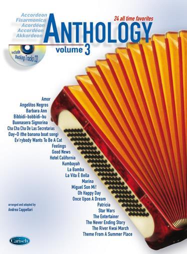 Anthology Accordeon 3 + Cd