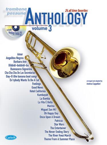 Anthology Trombone V.3 + Cd