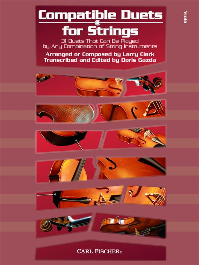 Compatible Duets For Strings - Viola