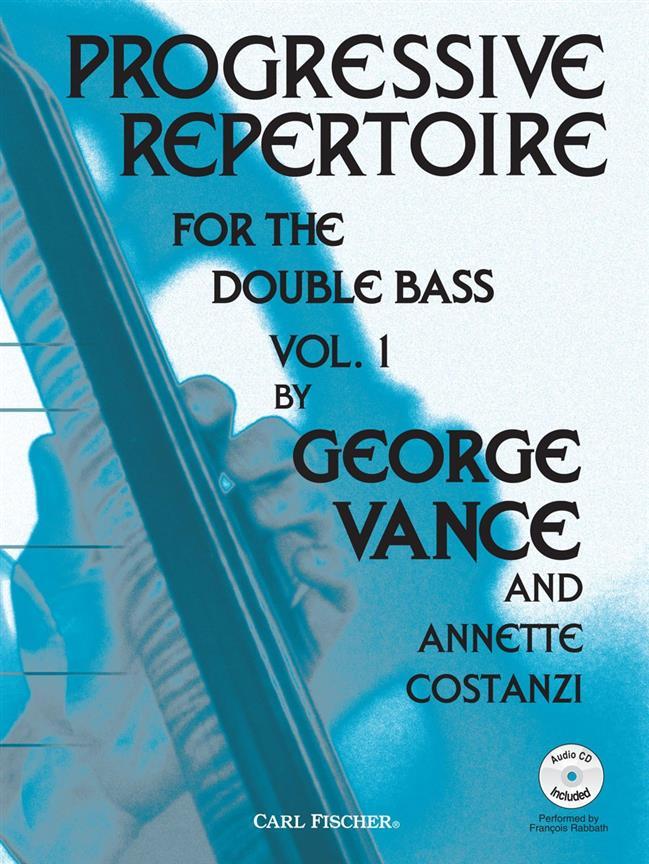 Progressive Repertoire for the double bass 1