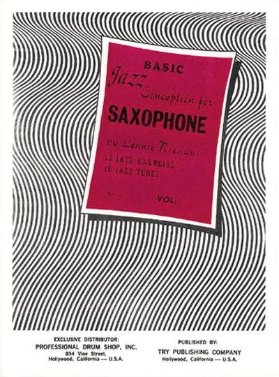 Basic Jazz Concept Sax 1