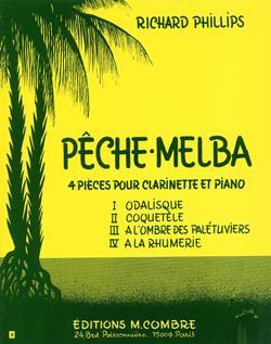 Pêche Melba (4 Pièces)