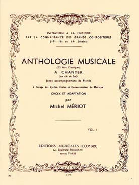 Anthologie Musicale Vol.1