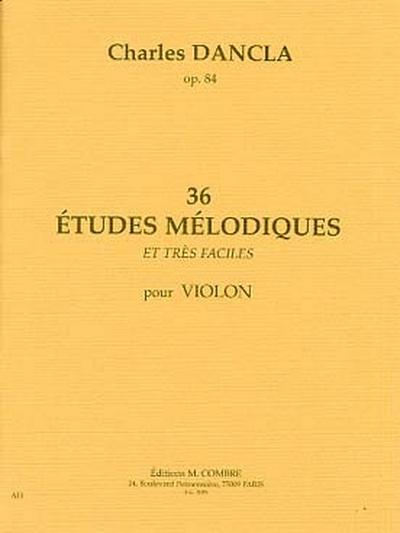 36 Etudes Mélodiques Op. 84
