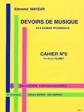 Devoirs De Musique Cahier 0