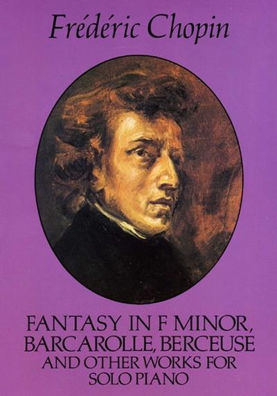 Fantasy F Minor Barcarolle Ber