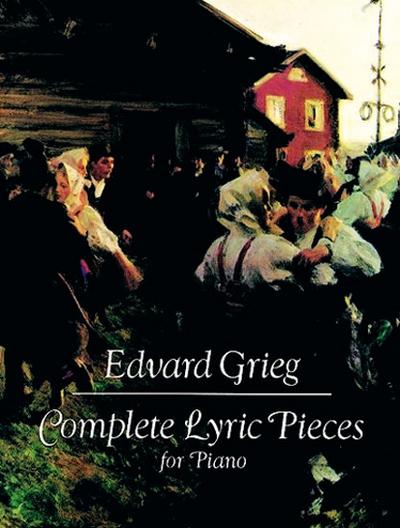 Complete Lyric Pieces Piano