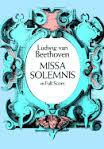 Missa Solemnis Full Score