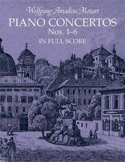 Piano Concerto N.1-6 Full Scor
