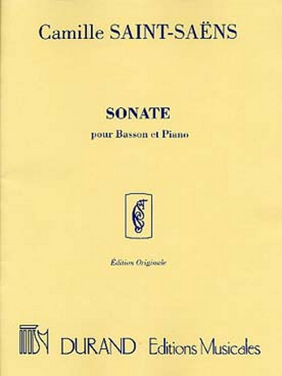 Sonate Op. 168 Basson/Piano