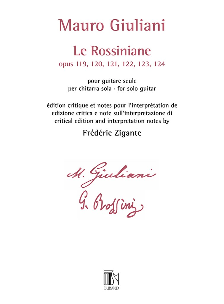 Le Rossiniane (opus 119, 120, 121, 122, 123, 124)