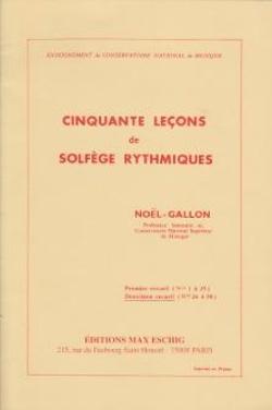 50 Lecons Vol.2 Solfège Rytmique