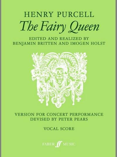 Fairy Queen, The (Vocal Score)
