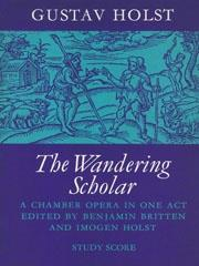 Wandering Scholar, The (Study Score)