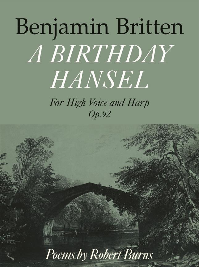 Birthday Hansel, A (High Voice And Harp)