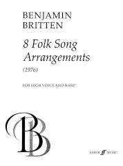 8 Folk Songs (High Voice And Harp)
