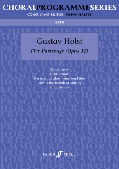 5 Partsongs. SATB Accompanied (Cps)
