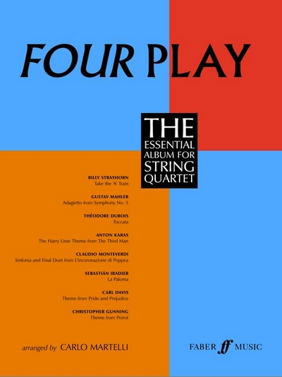 4 Play. String Quartet (Parts)